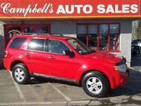 2009 Ford Escape XLT LOADED!! HEATED LEATHER!! SUNROOF! 4X4 V6 A