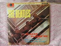 The Beatles Please Please Me LP and Long Tall Sally EP