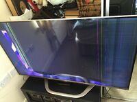 """Smart Tv Lg 55"""" 3d spares or repair"""