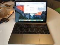 Apple Macbook 12 1.1Ghz Core M, 8GB Ram, 256GB SSD, Intel HD5300, Force Touch, Apple Warranty