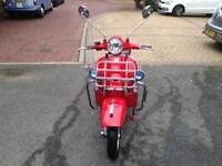 Vespa px 2016 low miles one owner from new