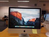 Apple iMac A1225 24 inch / 4gb ram / 500gb storage