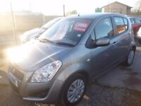 Suzuki SPLASH SZ2,5 door hatchback,full MOT,1 previous owner,2 keys,£20 yr road tax,low mileage 25k