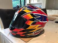 Rare OGK FF3 David Jefferies Replica Helmet