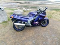 Kawasaki ZZR1100 C2 Purple