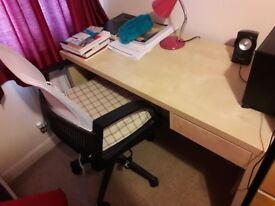 Study Table +chair for sale (£30)