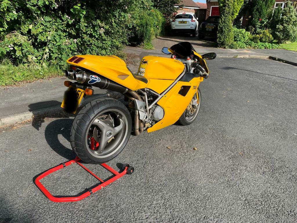 2001 Ducati 748 low miles 6400 termignonis serviced and belts replaced | in  Huntington, North Yorkshire | Gumtree