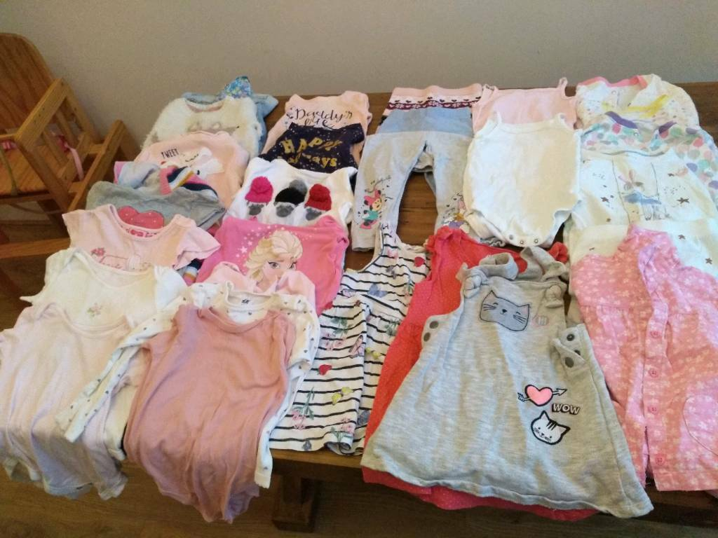 2230daf48d01 Baby girls 18-24 month clothes bundle