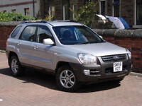 FINANACE AVILABLE!!! 2006 KIA SPORTAGE 2.0 CRDi VGT XE 5dr 6 SPEED, FULL LEATHER, ONLY 39000 MILES