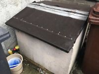 FREE to collect by Easter Monday 2018: Concrete bunker/previous coal bunker
