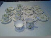 "Royal Grafton ""Evesham"" fine bone china tea set. 19 pieces in all."