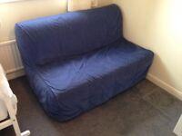 2 seat Sofa Bed - Ikea Lycksele