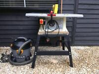 Table Saw and Wet Dry Vac £125