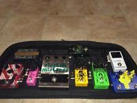 Jam pedals, vintage EHX, JHS, jonny rock gear