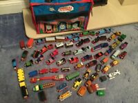 Thomas the Tank Engine 54 Take Along Diecast Trains, Many Rare Characters