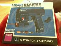 Ps2 Laser Blaster & Reload Peddle