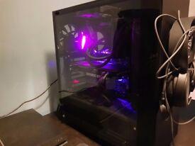 PC Gaming setup, Desktop: i5 8600K - 1080ti - 16gb RBG Vengeance - 960EVO Monitor: BenQ XL240T