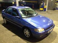 "**""FORD,ESCORT,FINESSE,1.6cc,MANUAL,5DR,2000,90BHP,BLUE""**"