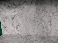 Carrera Marble laminate worktop