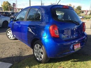 2015 Nissan Micra SV-$44/Wk-Bluetooth-AUX/CD/Mp3-Cruise-Keyless- London Ontario image 3