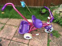 Girls princess trike