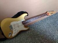 Vintage guitar strat gold/marble