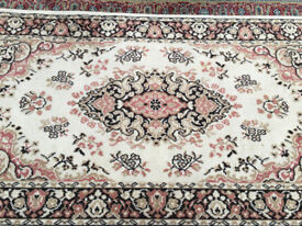 Pretty Traditional Kashmir Persian100% Pure Worsted Wool Rug