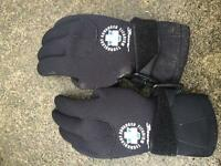Beaver dive gloves / scuba dive gloves size XS
