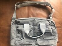 Joolz baby changing bag in grey brand new never used