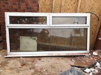 Large second hand double glazed window.