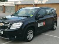 2012 Chevrolet Orlando leeds taxi plated 7 seater 2.0 diesel leather seats
