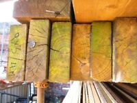 Garden sleepers / whalley boards