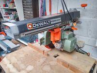De Walt Powershop DW125 Radial Arm Saw