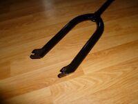Elevn 1 inch Bmx Junior\Expert race forks - Black