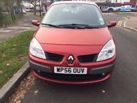 Renault GRAND Scenic 2.0 , Automatic , 5 Doors , RED , 1 YEAR MOT BEAUTIFUL CLEAN CAR