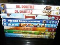 8 CHILDREN'S DVDs, children's films, kids' movies, Disney