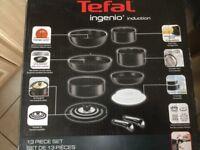 Tefal Ingenio pans brand new