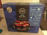 Swiss party grill new