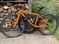 Frog 73 Bike suit 12-14 with Road and MB tyres and bottle + cage. Great Condition