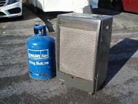 Portable Gas Heater with gas bottle