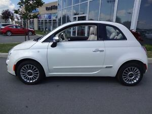 2013 Fiat 500C LOUNGE CONVERTIBLE COMME NEUF