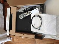 Sky+HD, with cables, remote and sky wireless connector. All boxed
