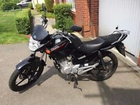 Black 2015 Yamaha YBR 125 (Low mileage)