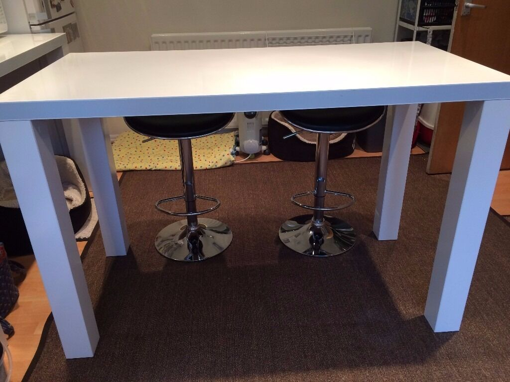 Ikea toresund breakfast bar table in whickham tyne and for High table and chairs ikea
