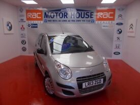 Suzuki Alto SZ(£0.00 ROAD TAX) FREE MOT'S AS LONG AS YOU OWN THE CAR!!! (silver) 2013