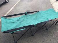 Camp beds x3