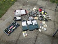 VERY VERY LARGE AMOUNT OF SEA FISHING TACKLE TO MUCH TO LIST SEE PICS
