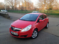 IMMACULATE VAUXHALL CORSA 2008 . 1 YEAR MOT . FULL SERVICE HISTORY. SUPERB DRIVE . BARGAIN