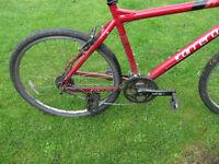 Used carrera mountain bike spere or repair,