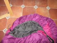 Adult sleeping bag Karimoor almost new. £15.00